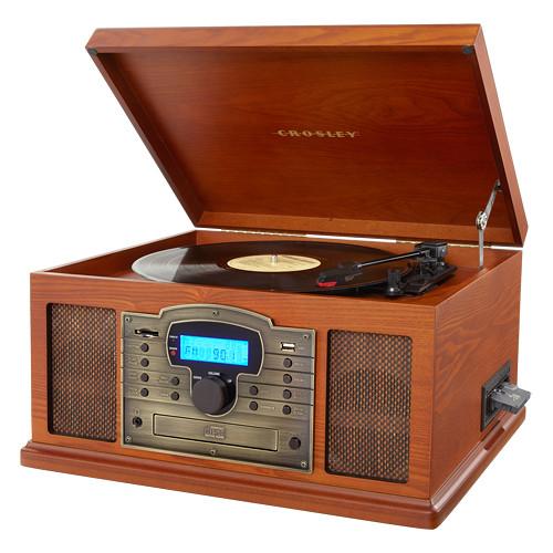 Crosley Radio Troubadour 3-Speed Turntable with Bluetooth (Paprika)