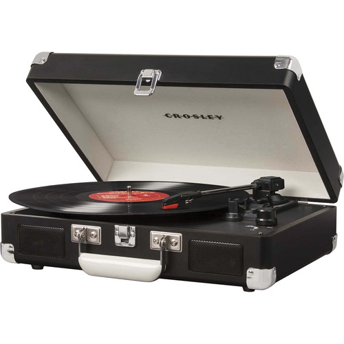 Crosley Radio Cruiser Portable Turntable (Chalkboard)
