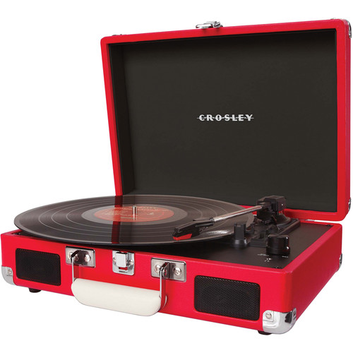 Crosley Radio Cruiser Portable Turntable (Red)