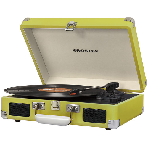 Crosley Radio Cruiser Deluxe Portable Turntable (Green)