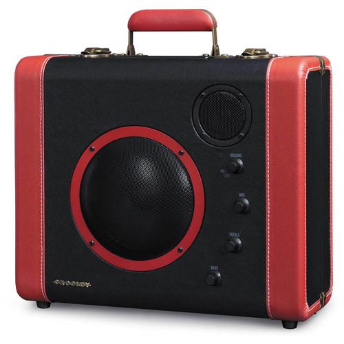 Crosley Radio CR8008 SoundBomb Portable Speaker System (Black & Red)