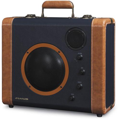 Crosley Radio CR8008 SoundBomb Portable Speaker System (Blue & Tan)