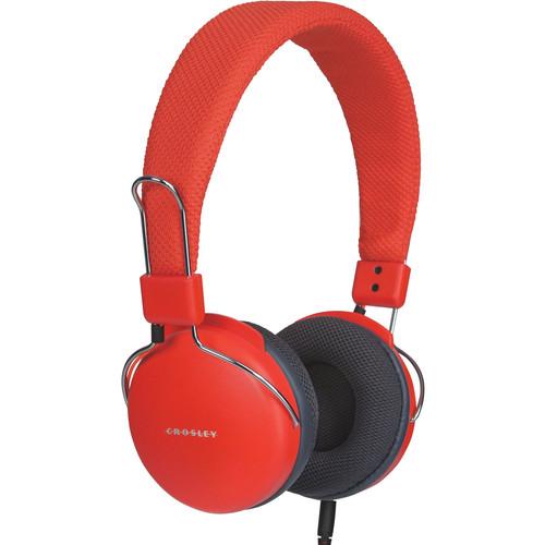 Crosley Radio Amplitone On-Ear Headphones (Orange)