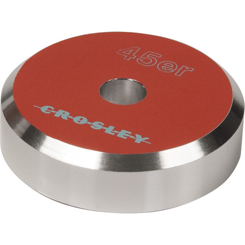 Crosley Radio 45'ER Aluminum 45 RPM Adapter (Orange)