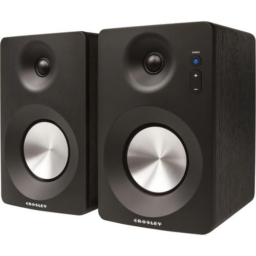 Crosley Radio S100A 2-Way Powered Speakers (Pair)