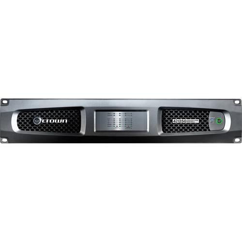Crown Audio DCi 41250 Four-Channel Analog Power Amplifier (1250W @ 4 ohms)