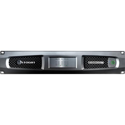 Crown Audio DCi 4|1250N Four-Channel Power Amplifier with BLU link (1250W, 4 Ohms)