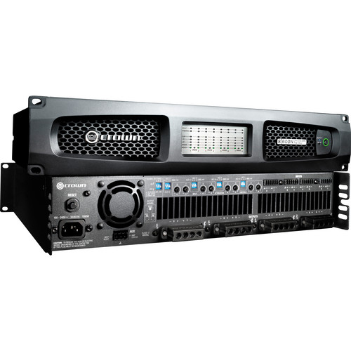 Crown Audio DriveCore Install 8|600N 2-Channel Network Amplifier 600 Watts x 8