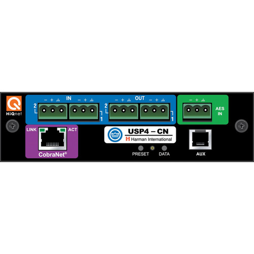 Crown Audio PIP-USP4-CN IQ Programmable Input Processor (PIP) Card