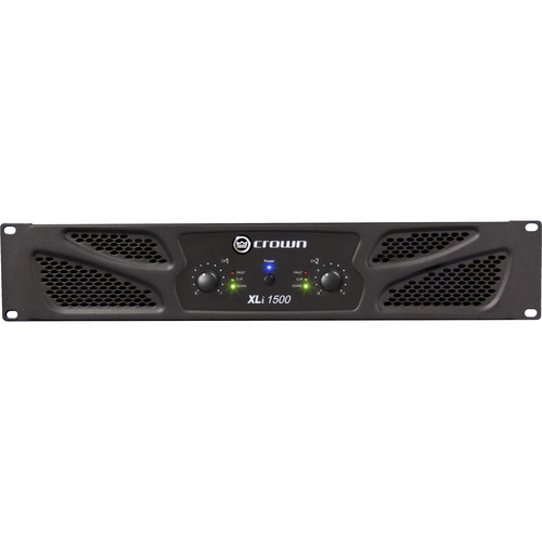 Crown Audio XLi 1500 900W 2-Channel (450Wx2 @ 4 Ohms) Stereo Power Amp  (EU) 220V