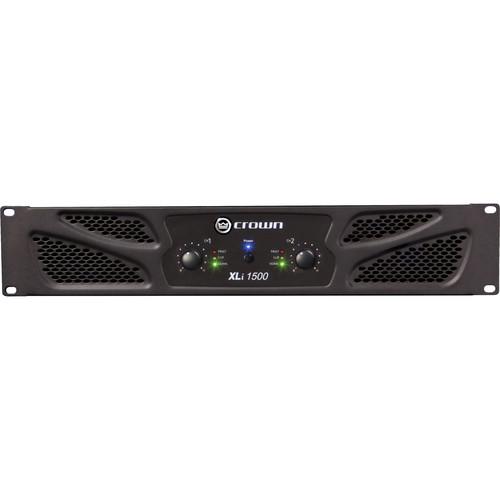 Crown Audio XLi 1500 Stereo Power Amplifier