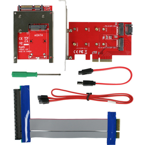 CRU-DataPort Ditto DX PCIe Adapter Bundle