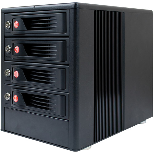 CRU-DataPort RTX410-XJ 4-Bay SAS/SATA JBOD Drive Enclosure with TrayFree Bays