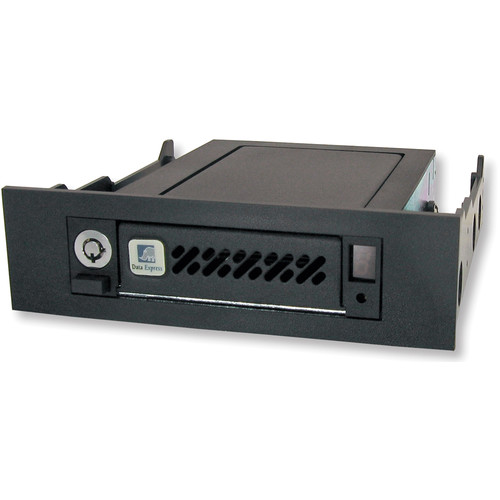 "CRU-DataPort DE50 2.5"" SAS/SATA 6G Removable Drive Enclosure (Black)"