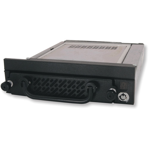 "CRU-DataPort Data Express DE275 3.5"" Removable Drive Steel Enclosure (Black)"