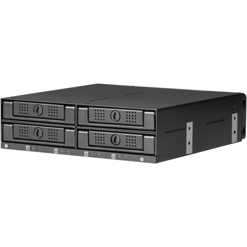 "CRU-DataPort DataPort 41 2.5"" SATA/SAS 6 Gb/s Frame (Black)"