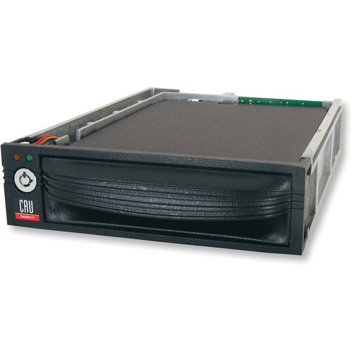 "CRU-DataPort DP10 3.5"" SAS/SATA Removable HDD Carrier (Black)"
