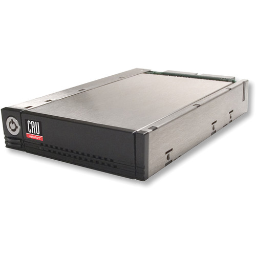 "CRU-DataPort DP25 Small Form Factor Removable 2.5"" SATA/IDE Drive Enclosure (Black)"