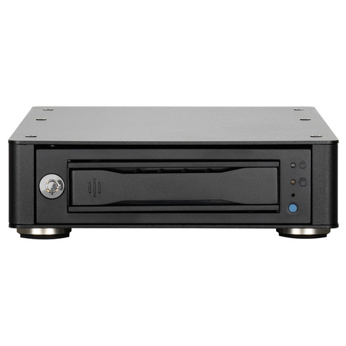 """CRU-DataPort 1-Bay 3.5"""" Hard Drive Enclosure for DX115 DC Drive Carriers with eSATA, USB 3.1 Gen 1 & Dual FireWire 800"""