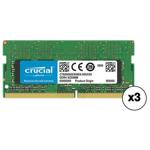 Crucial 12GB DDR4 2133 MHz SO-DIMM Memory Kit (3 x 4GB)