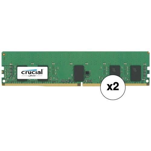 Crucial 16GB 2666 MHz 288-Pin DDR4 Kit (2 x 8GB)