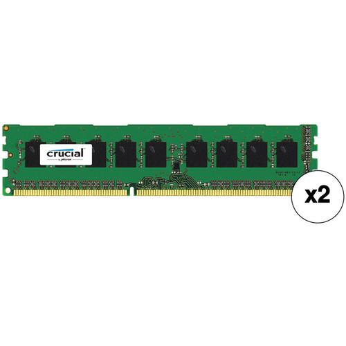 Crucial 16GB (2 x 8GB) 240-Pin DIMM DDR3 PC3-14900 Memory Module Kit
