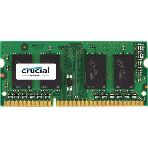 Crucial 16GB (2 x 8GB) 204-Pin SODIMM DDR3 PC3-14900 Memory Module Kit