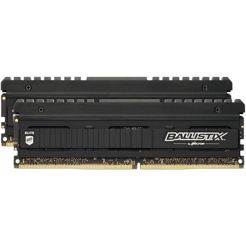 Ballistix 32GB Elite Series DDR4 3000 MHz UDIMM Memory Module Kit (2 x 16GB)