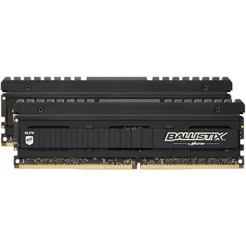 Ballistix 16GB Elite Series DDR4 3200 MHz UDIMM Memory Module Kit (2 x 8GB)