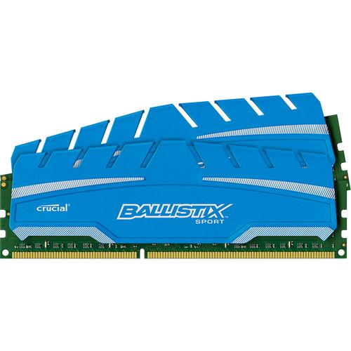 Ballistix 8GB Ballistix Sport DDR3 1866 MHz UDIMM Memory Module Kit (2 x 4GB)