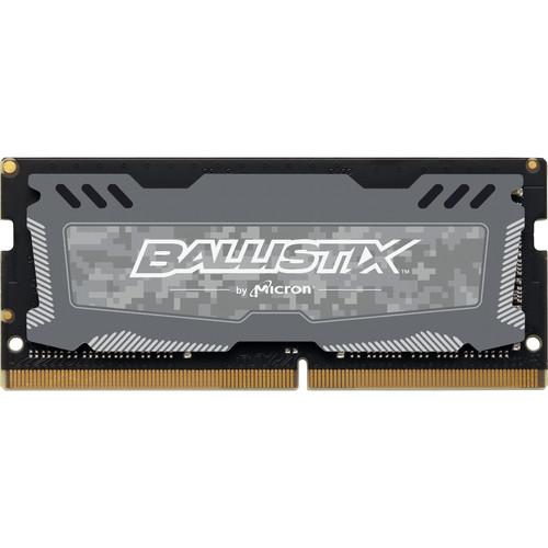 Ballistix 4GB Sport LT Series DDR4 2666 MHz SO-DIMM Memory Module