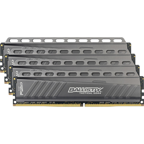 Crucial 32GB Ballistix Tactical Series DDR4 3000 MHz UDIMM Memory Module Kit (4 x 8GB)