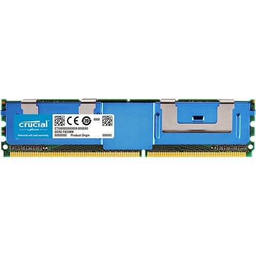 Crucial 8GB DDR2 667 MHz ECC FBDIMM Memory Module