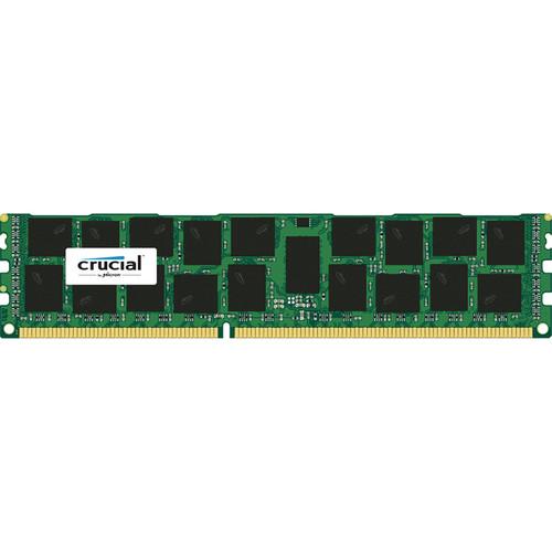 Crucial 16GB 240-Pin RDIMM DDR3 PC3-12800 Memory Module