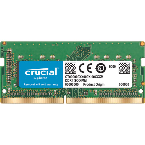 Crucial 16GB DDR4 2400 MHz SO-DIMM Memory Module for Mac