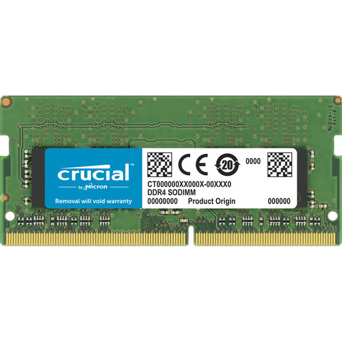 Crucial 16GB DDR4 2666 MHz SODIMM Memory Module
