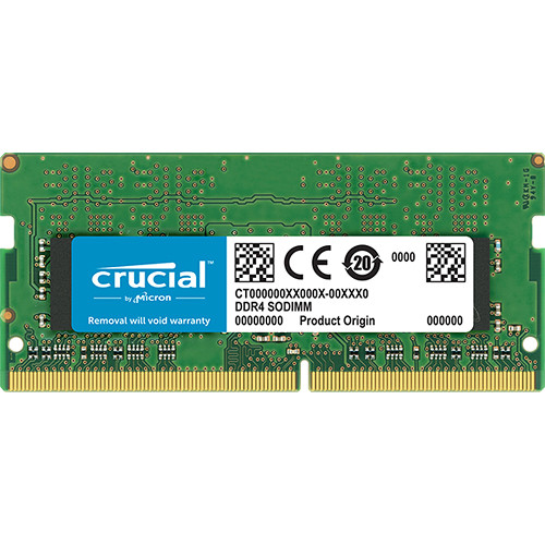 Crucial 16GB DDR4 3200 MHz SO-DIMM Memory Module