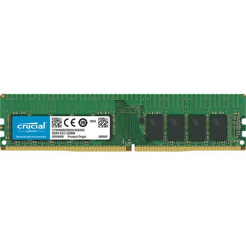 Crucial 16GB DDR4 2400 MHz UDIMM Memory Module