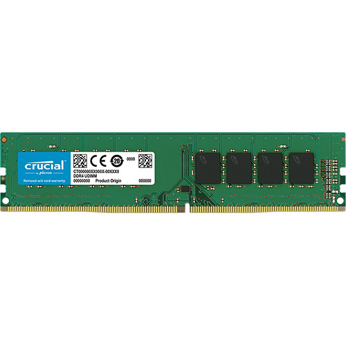 Crucial 16GB 288-Pin DDR4 2400 MHz UDIMM Memory Module