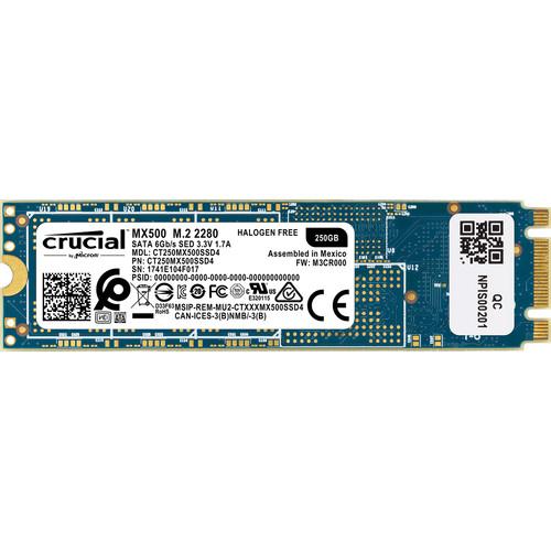 Crucial 250GB MX500 M.2 Internal SSD