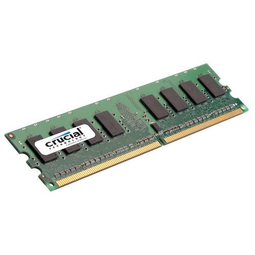 Crucial 2GB, 240-Pin DIMM, DDR2 PC2-5300 Memory Module