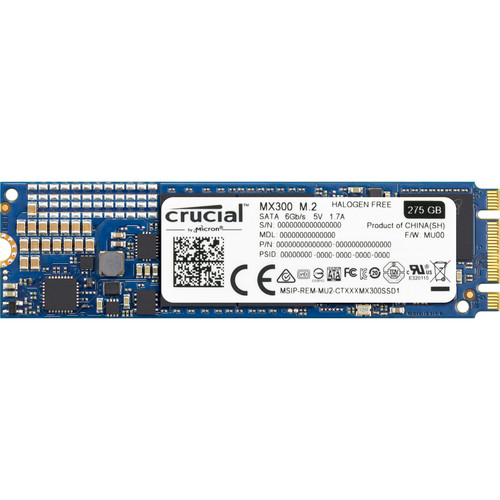 Crucial 275GB MX300 SATA M.2 Internal SSD