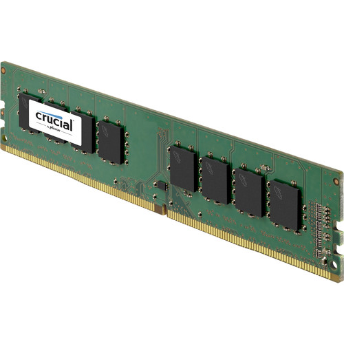 Crucial 2GB DDR4 2400 MHz x16 ECC Unbuffered DIMM Memory Module