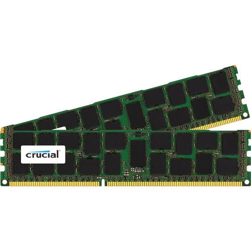 Crucial 32GB Kit (2 x 16GB) 240-Pin DIMM DDR3 PC3-12800 Memory Module