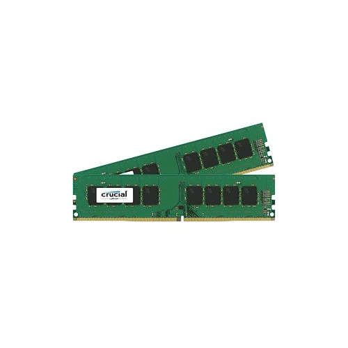 Crucial 32GB DDR4 2133 MHz UDIMM Memory Kit (2 x 16GB)