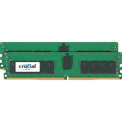 Crucial 32GB DDR4 2400 MHz RDIMM Memory Kit (2 x 16GB)