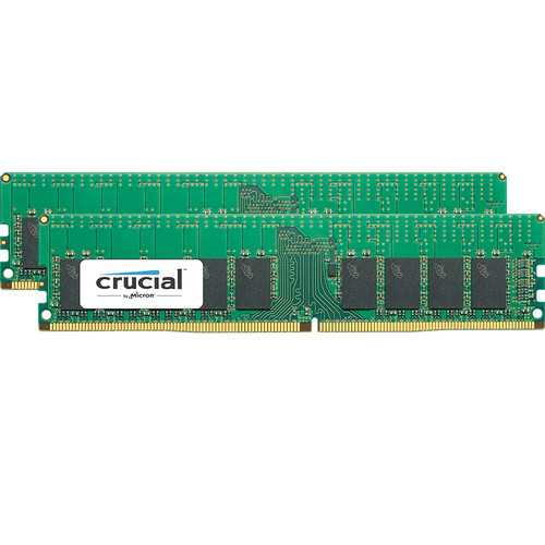 Crucial 32GB DDR4-2666 RDIMM Memory Kit (2 x 16)
