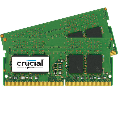 Crucial 32GB DDR4 2400 MHz SO-DIMM Memory Kit (2 x 16GB)