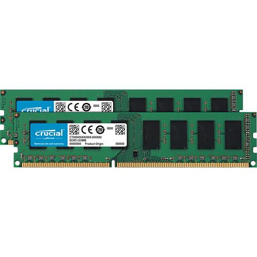 Crucial 4GB DDR3L 1600 MHz UDIMM Memory Kit (2 x 2GB)