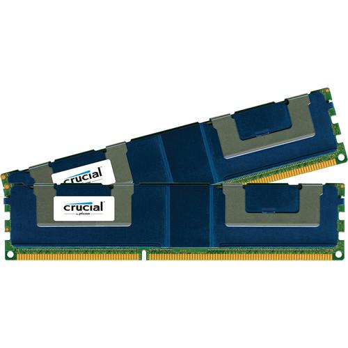 Crucial 64GB (2x32GB) DDR3 240-Pin DIMM PC3-14900 ECC Load Reduced (LR) RAM Kit